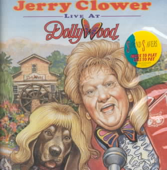 LIVE FROM DOLLYWOOD BY CLOWER,JERRY (CD)